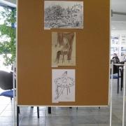 Wystawa rysunku na Wydziale Prawa i Administracji - 04. 2015.