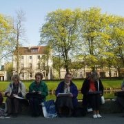 Plener w Parku Oliwskim