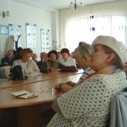 Słuchacze podczas wykładu