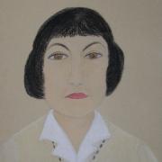 Bako Wanda<br /> - <em> Portret</em> <br />(pastel)