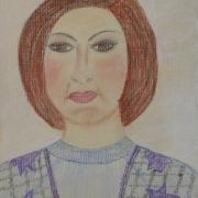 Gawieńczyk Ludmiła<br /> - <em> Portret</em> <br />(pastel)