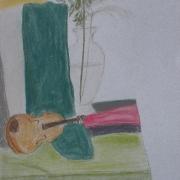 Potocka Emma<br /> - <em> Martwa Natura</em> <br />(pastel)