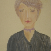 Rękawek Elżbieta<br /> - <em> Portret</em> <br />(pastel)