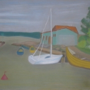 Wanda Bako<br /> (pastel)