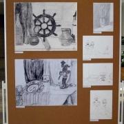 Autorki prac; po lewej u góry - Krystyna Czarny, po lewej na dole - Olcha Średzińska, po prawej u góry: Regina Orłowska, pozostałe prace: Krystyna Czarny