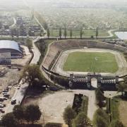 Stadion żużlowy w Gdańsku. Żródło: https://www.wybrzezegdansk.pl