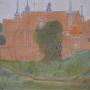 Bogumiła CEGIELSKA - Wzgórze katedralne (pastel)