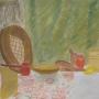 Czachowicz Maria - Martwa natura z sarenką (pastel)