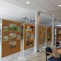 Wystawa prac plastycznych na Wydziale Prawa i Administracji
